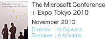 The Microsoft Conference + Expo Tokyo 2010